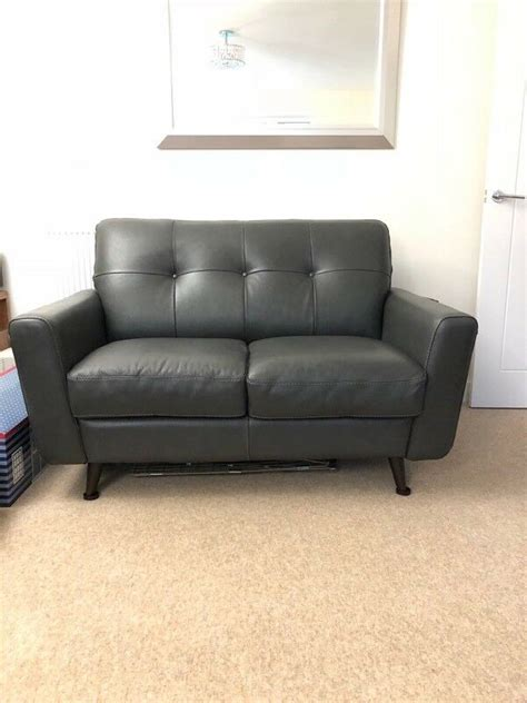 dfs leather sofas  seater  purton wiltshire gumtree