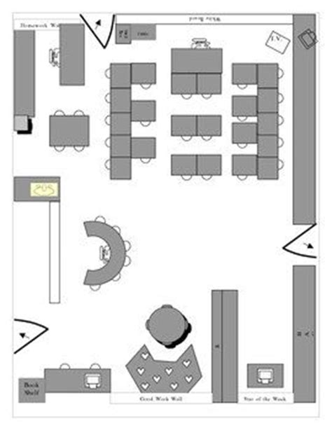 physical layout of classroom 17 best images about my second grade classroom ideas on