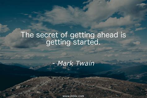 Of Getting by The Secret Of Getting Ahead Is By Inblix