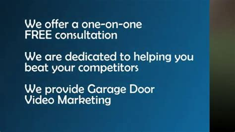 Garage Door Marketing Garage Door Marketing Garage Door Advertising Garage Door Leads Websites On Vimeo