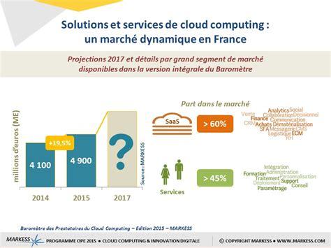 Cloud computing : le marché français décolle enfin   ZDNet