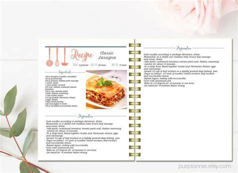 livre de cuisine modifiable recette de mod 232 le motif par