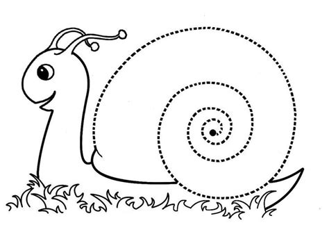 snail coloring pages preschool crafts actvities and worksheets for preschool toddler and