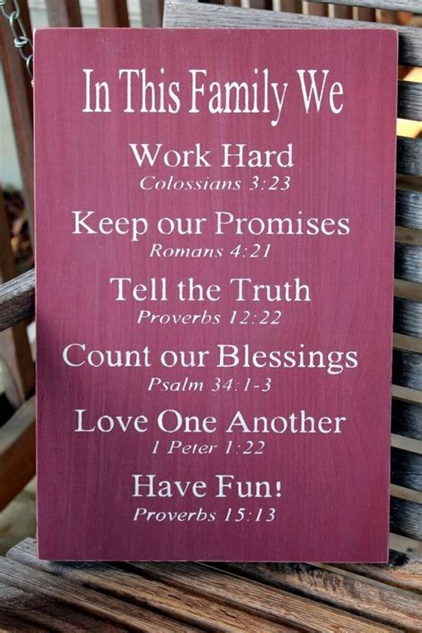 christian family sign bible verses housewarming