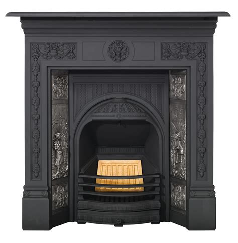 Tiled Fireplace Insert by Combination Tiled Insert Fireplaces Stovax Traditional