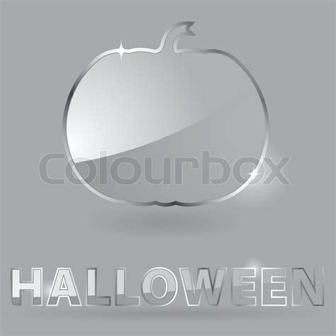 glass design elements 25 vector glass theme for halloween with pumpkin element for design