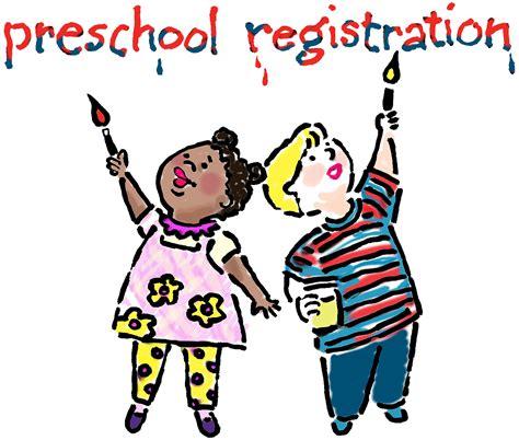 painting preschool free preschool registration clipart