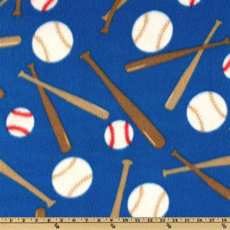 M Baseball Fleece sports fleece baseball balls and bats royal discount