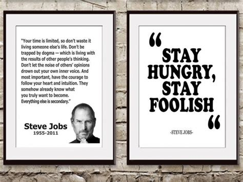 Steve Quote Poster Stay Hungry Stay Foolish Hiasan Dinding 50 epic motivational and demotivational posters