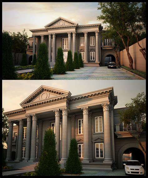 classic house design disain rumah klasik elegant