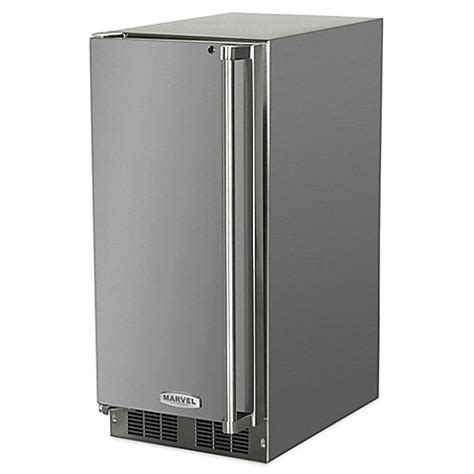 under cabinet ice maker with pump buy undercounter 15 inch outdoor stainless steel ice