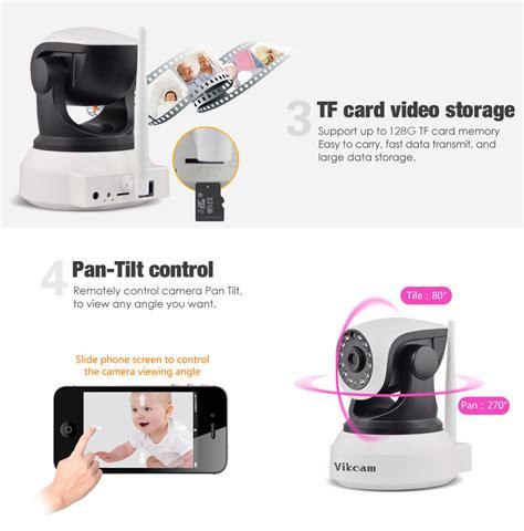 Termurah Ip C7824wip Hd 720p Kamera Ip Wireless P2p Cctv Bagus vikcam c7824wip wifi 720p ip white