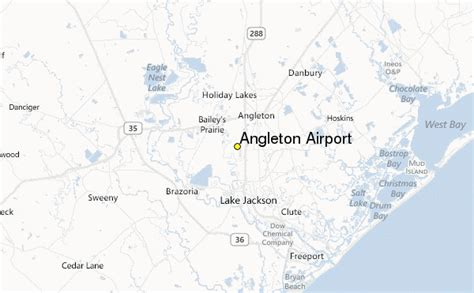 where is angleton on a map angleton airport weather station record historical