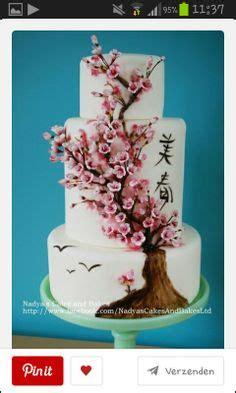 Japanische Hochzeitstorte by Cherry Blossom Cake Wedding Cakes