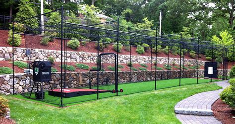 how to build a backyard batting cage building a home batting cage