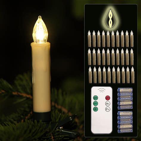 led weinachtsbaum kerzen bewegt lunartec christbaum lichterkette led weihnachtsbaum lichterkette mit 20 led kerzen ip20