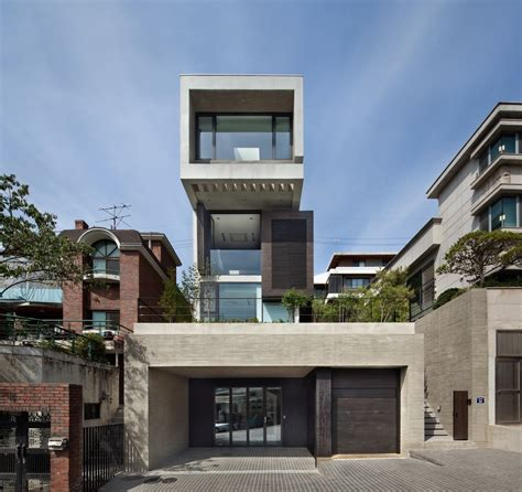 Hh House by H House South Korean Residence E Architect
