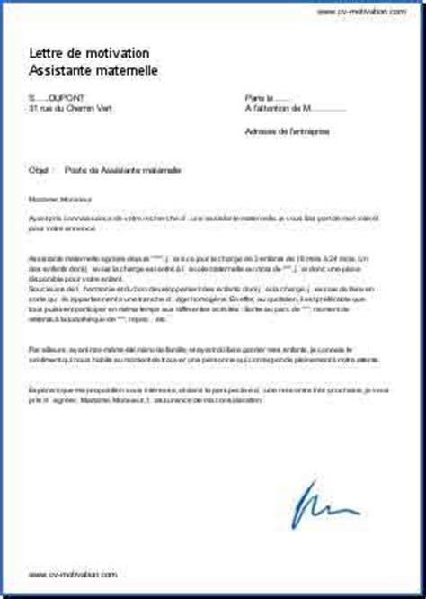 Exemple Lettre De Motivation école De Management lettre de motivation 195 169 cole maternelle