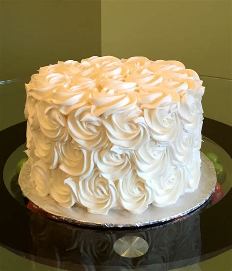 Rosette Layer Cake Cl Y Cupcakes