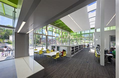 library interior design anacostia library by freelon group buildipedia
