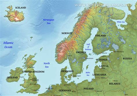 map northern europe scandinavia map of northern europe roundtripticket me