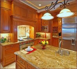 Kitchen Decorating Ideas For Countertops by Picture Of Kitchen Countertop Decorating Ideas Pictures