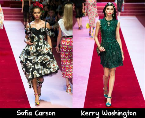 Catwalk To Carpet Alba In Dolce Gabbana by Dolce Gabbana 2018 Carpet Wish List