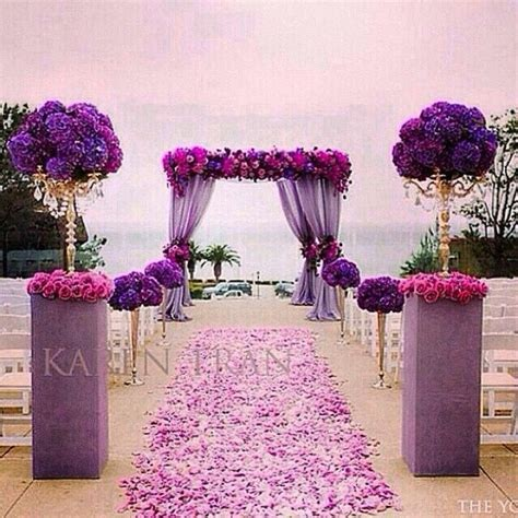 Best 25  Purple wedding receptions ideas on Pinterest