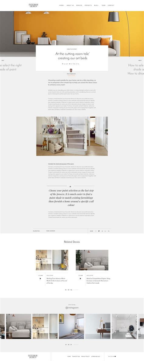 themeforest interior design interior design psd template by mapsap themeforest