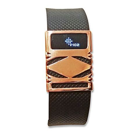 fitbit bed bath beyond buy funktional wearables fitbit 174 charge charge hr geo cover in rose gold from bed