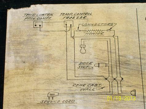 vintage refrigerator wiring diagram wiring diagram with