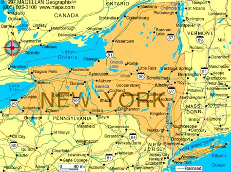 map of ny atlas new york