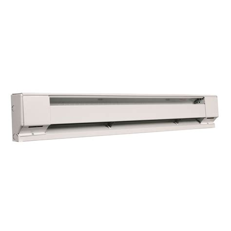 120v electric baseboard heater with thermostat fahrenheat f2514 120v 1000w 48 inch electric baseboard