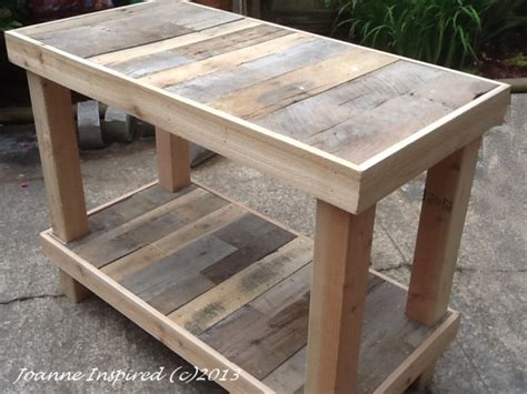 diy projects kitchen work table wooden pdf fences planning