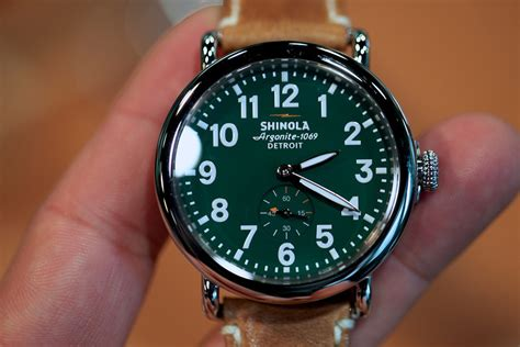 shinola watches made in detroit usa selectism