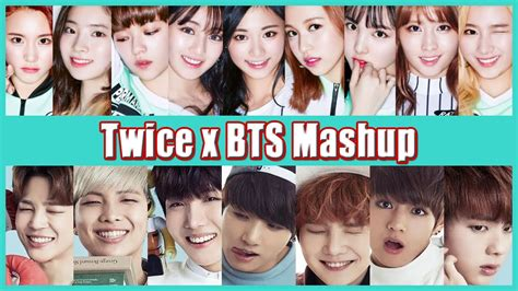 bts x twice twice x bts cheer up boy in luv mashup 트와이스 x 방탄소년단