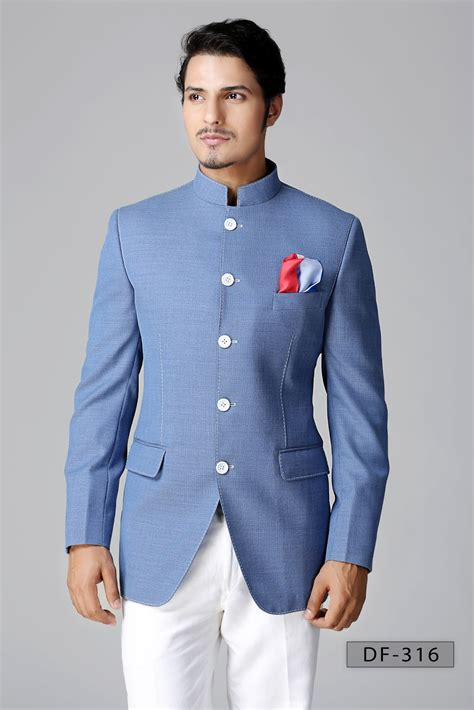 New Endia Jaket Navy modern 3 suits for three suit indian office wear new fashion