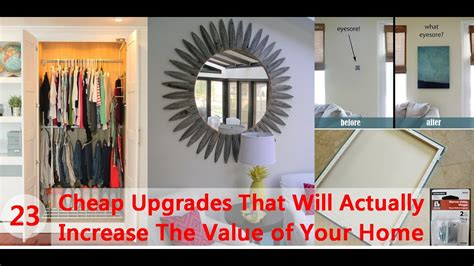 23 cheap upgrades that will actually increase the value of