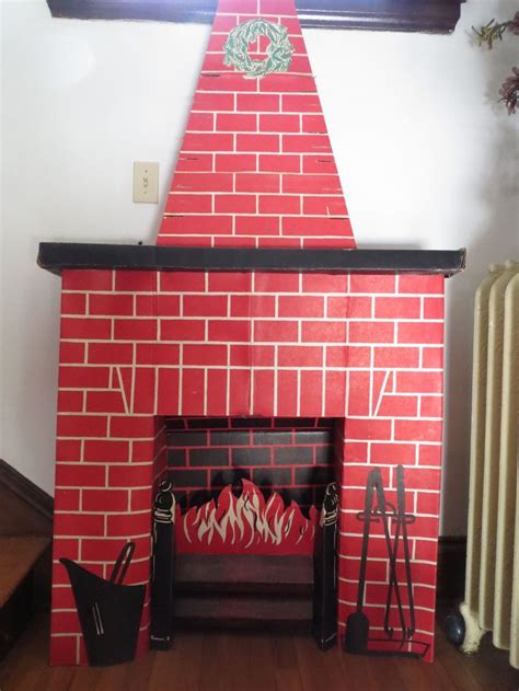 How To Make A Paper Fireplace For - 12 tutorials to make a cardboard fireplace guide patterns