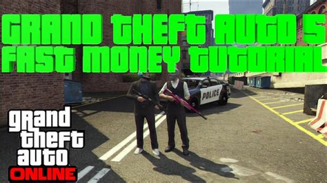 How To Make Tons Of Money In Gta 5 Online - gta 5 how to get lots of money fast and legit ps3 and xbox youtube