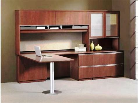 wooden l shaped desk furniture light brown wooden l shaped desk with shelf and