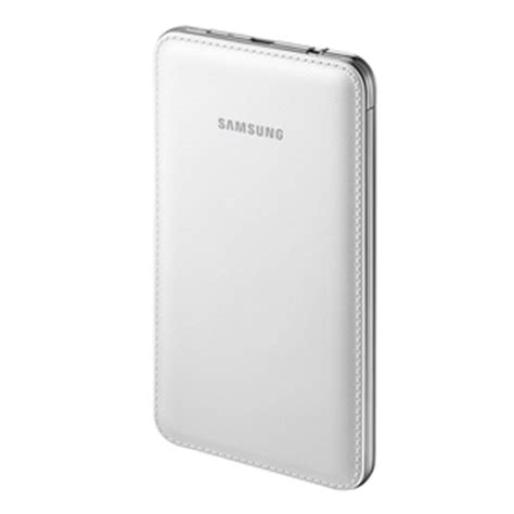Update Powerbank Samsung samsung is selling a 6000mah battery pack with faux leather design for rs 3 599