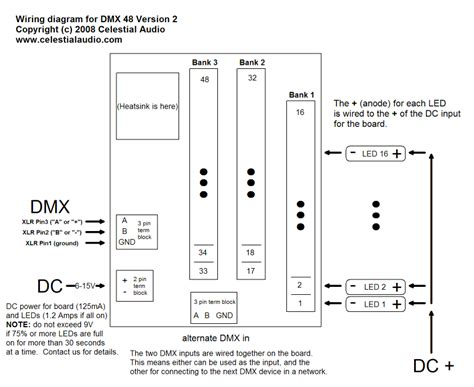 5 pin dmx wiring diagram 24 wiring diagram images