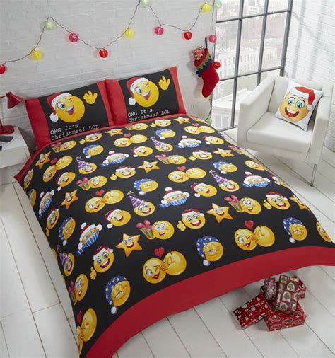 Bed Cover Ukuran 220 X 230 Microtex Polos Bed Cover Only emotions emoticons icons multi reversible rotary king bed duvet quilt cover set
