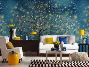 home design murals wall and wallpaper for bedroom walls hand painted family tree mural wall art pinterest
