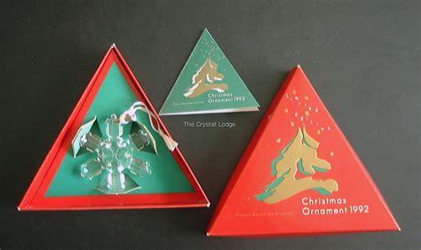 swarovski swarovski 1992 christmas ornament 168690