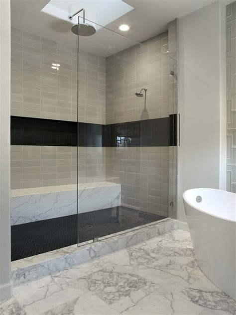 Bathroom Glass Tile Designs by How Important The Tile Shower Ideas Midcityeast