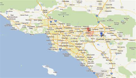 california map ontario ontario california map