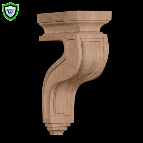 Hollow Corbels Corbels Hollow Back Wood Corbels Chadsworth Millwork
