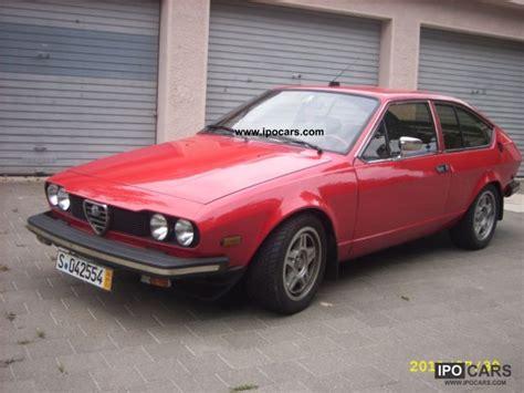 1980 Alfa Romeo by 1980 Alfa Romeo Gtv Photos Informations Articles